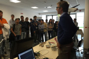 Open day of LAFOS (Laboratory on Fiber Optics Sensors) - UPDATE with photos